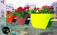 XL Greenbo Deko Blumenkasten für Balkon Dekoration Pflanzkasten Geschenke