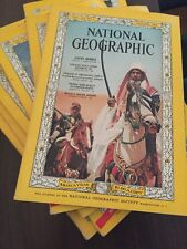 1966 Set NATIONAL GEOGRAPHIC Magazine,3 Supplements, U.S. & Southern Canada Vaca
