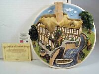 David Winter Cottages: On the Riverbank, Collector's Guild Plaque