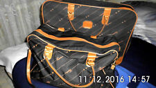 2Tlg. Set ,Reisekoffer und Reisetasche  Taschen-Set aus festem Stoffmaterial