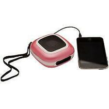 Groov-e pink big sound mini speakers for ipod/iphone