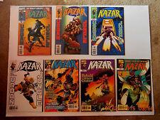 Marvel Comics Kazar Vol 3 # 9-14 Comic Book Set!New! Thanos / High Evolutionary!