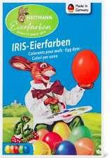 5 colori in pastiglia per colorare le uova heitmann iris eierfarben