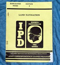 IPD LAND NAVIGATION - US Army Anleitung