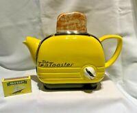 large toaster  teapot   swineside teapottery  read description