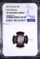 2019 S Proof 10C Clad Dime NGC PF70 ULTRA CAMEO Roosevelt BU ER