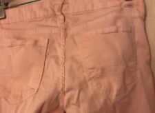 Mother JEANS Pastel PINK Cotton Stretch Skinny NWOT Sample Sized 0,2