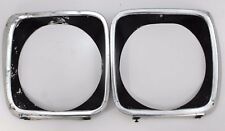 Used Pair Of Holden LJ Torana Headlight Surrounds Genuine GTR XU-1 Spares