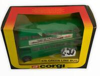 CORGI 470 GREEN LINE BUS Boxed Vtg Retro (s)