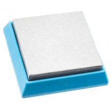 Bead Buddy Steel Bench Block with Cushion Base 7x7x2cm (F28)