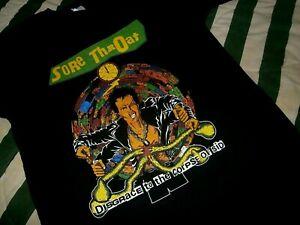 SORE THROAT shirt CARCASS BOLT THROWER NAPALM DEATH REPULSION ENTOMBED DOOM LP