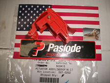 Paslode Part #  900415 - ACTUATOR ASSEMBLY (includes pin & bushing)