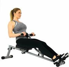 Ergonomic 12 Level Adjustable Resistance Rowing Machine Rower w/ Digital Monitor