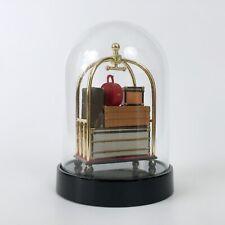 RARE Louis Vuitton LV 25th Anniversary Trunk Bag Trolley VIP Gift Snow Globe