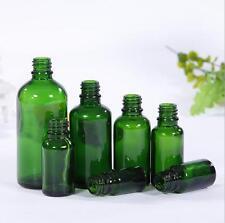Empty Amber Bottle Glass Essential Oil Liquid Aromatherapy+Dropper Cap