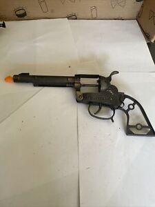 MAVERICK 45 Toy Cap Gun - Henry Wild West Toys white grips w/ holster WOW clean
