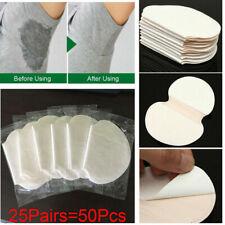 50PC Disposable Underarm Sweat Pads Armpit Absorbing Sheet Dress Clothing Shield