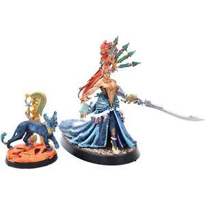 Yvraine, Emissary of Ynnead Eldar Aeldari Craftworlds Warhammer 40k