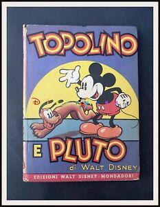 ⭐ TOPOLINO e PLUTO - Sinfonie Allegre Mondadori Disney 1938 - DISNEYANA.IT ⭐