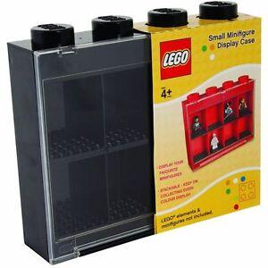 LEGO VITRINE NOIR pour 8 Mini FIGURINES CASES RANGEMENT BRIQUE UT21236 Boite