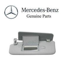 For Mercedes W211 E320 E350 Driver Left Sun Visor Orion Grey With Mirror OES