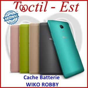 Wiko Robby Abdeckung Batterie Verkleidung Deckel von Rückseite 100% Original mit