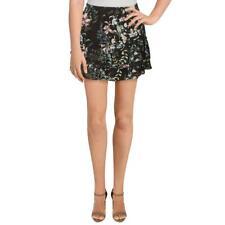 Generation Love Womens Silk Floral Tiered Mini Skirt BHFO 6715