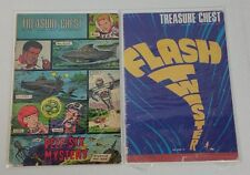 LOT OF 2 Treasure Chest of Fact and Fiction Comic Book Vol 24 #1 #14 (1968)