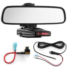 Mirror Mount Bracket + Direct Wire + Micro Add a Circuit for Escort 9500ix