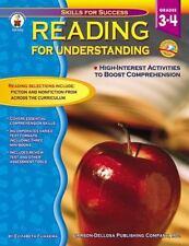 Reading for Understanding, Grades 3 - 4: High Interest Activities to Boost Com..
