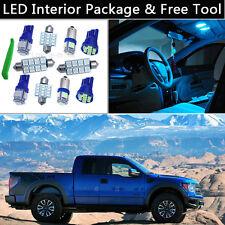 12PCS Ice Blue LED Interior Light Package kit Fit Ford 2004-2012 F-150 F150 J1