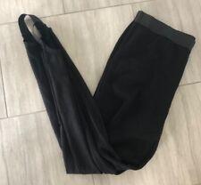 Womens Evans Black Stirrup Legging Size 20