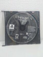 Sony PlayStation 1 PS1 Dracula: el último santuario Disco uno disco solamente