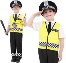 Childs Fancy Dress Kids Police Officer Costume & Mock Radio Childrens by Smiffys