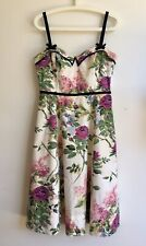 Fit & Flare Floral Dress From Anthropologie - Size 10