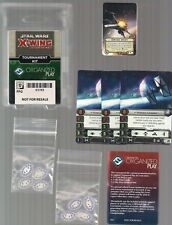 STAR WARS X-WING MINIATURES OP TOURNAMENT 2017 Q3 KIT G17X3 CARDS & TOKENS NEW