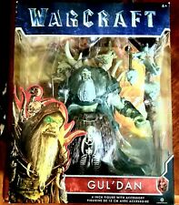 "WORLD OF WARCRAFT GUL'DAN 6"" ACTION FIGURE~13 POINTS  OF ARTICULATION~2016 NIP"