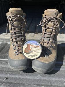 Kenetrek Non-Insulated Mountain Extreme Boots Sz 11.5