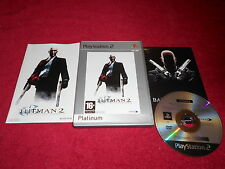HITMAN 2 SILENT ASSASSINS SONY PLAYSTATION 2 PS2 PAL VGC