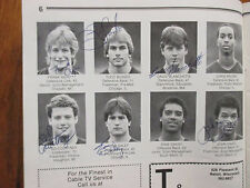 1983 Beloit College Football Media Guide(34 Signed/with ED DeGEORGE/FRANK AGIN)