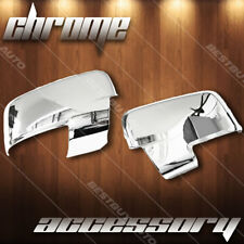 Chrome Mirror Cover With Turn Signal For 2009-2010 Dodge Ram 1500