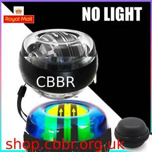 CBBR High Quality Self-Start Power Ball Gyroscope Wrist Arm Exercise No Light