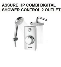 ASSURE HP COMBI DIGITAL 2 OUTLET CONCEALED SHOWER CONTROL NEW FROM BATHSTORE