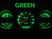 Gauge Cluster LED Dashboard Bulb Green For Dodge 81 89 D100 - D350 Truck