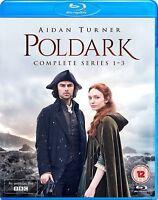 Poldark Serie 1 A 3 Collezione Completa Blu-Ray Nuovo (3711537443)