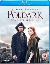 Poldark Series 1 to 3 Complete Collection Blu-ray UK BLURAY
