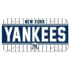 New York Yankees Logo Plastic License Plate NEW!! Free Ship 6x12 Inches