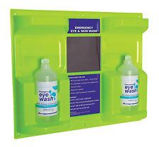 Emergency Eye & Wound Wash Station / Plastic Wall Mount 500ml