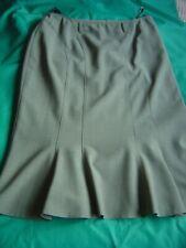 CATHERINA HEPFER  Ladies Skirt Grey Wool/Polyester Lined