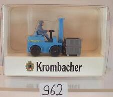 Wiking 1/87 2479 Gabelstapler Krombacher Pils OVP #962